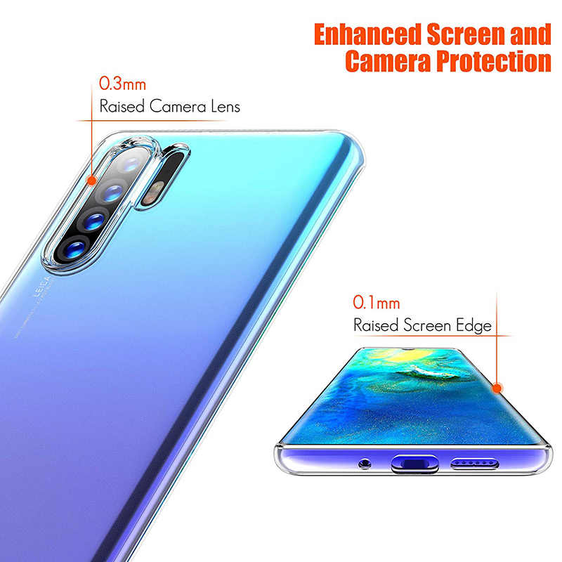 Transparante Case TPU voor Huawei P30/P30 Pro/P30 Lite Soft Silicon Cover Dunne Clear Telefoon Back Armor p30Pro P30Lite HuaweiP30 Gel
