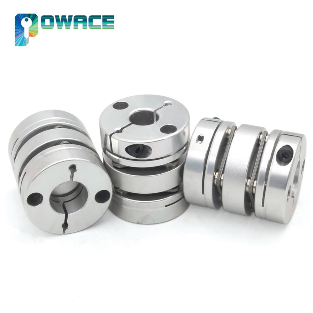 3Pcs Double Diaphragm Coupling Stepper Motor CNC Parts Router Mill engraving machine