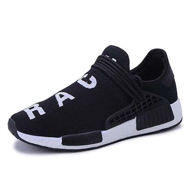 Zapatos Deportivos informales para hombre, mocasines de malla de aire vulcanizados para correr al aire libre, antideslizantes, Tenis masculinos 6