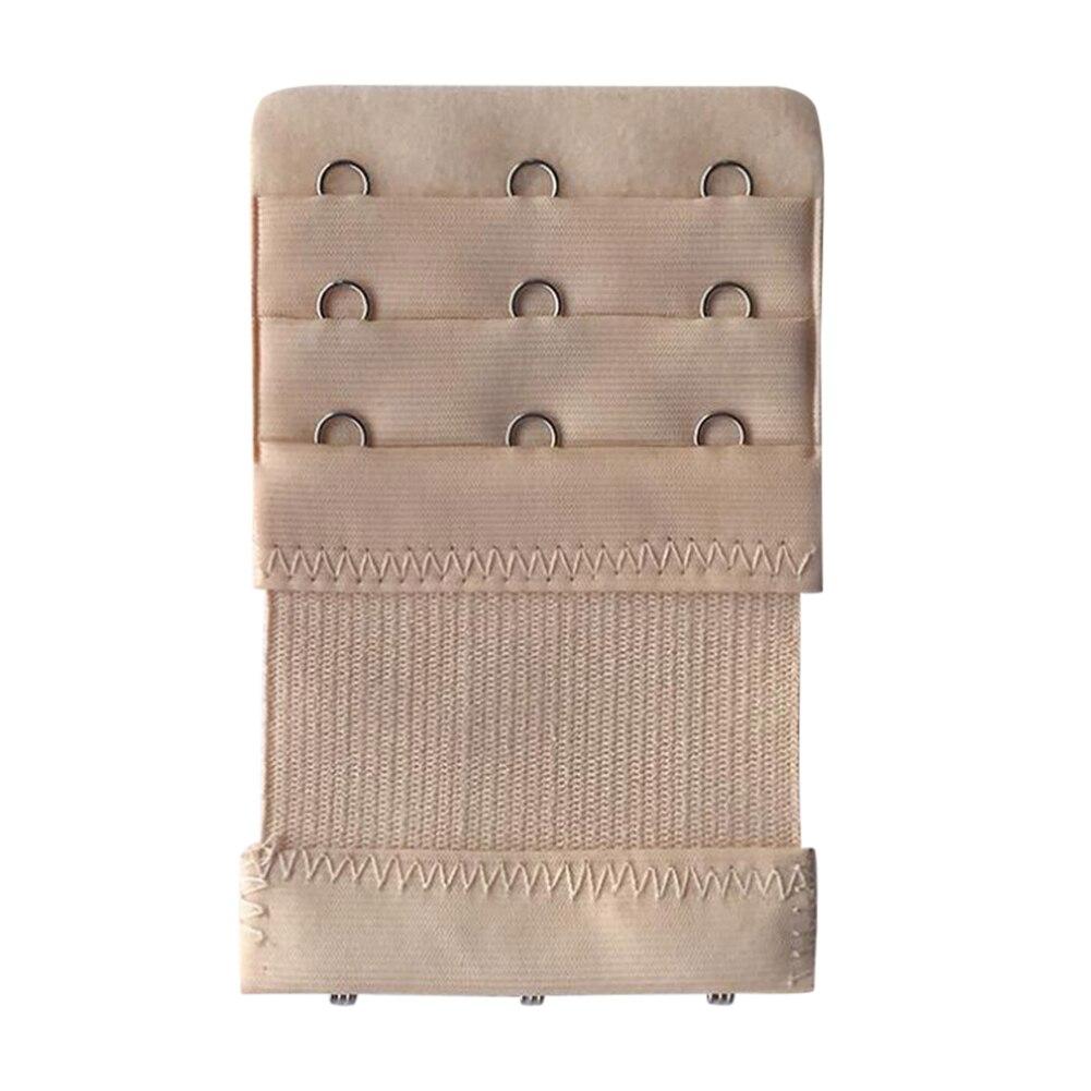 2/5 шт. 3 крючка 3 ряда Для женщин эластичные удлинитель для бюстгальтера с креплением сзади ремешок Застежка Пряжка Регулируемая пряжка для ремня кружевное нижнее белье удлинитель