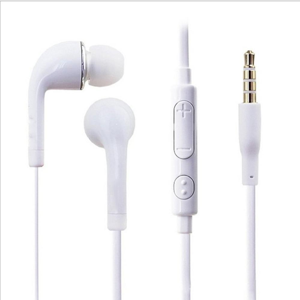 For S4 For S6 Headphones For I9300 Mobile Phone Headphones Wired With Wheat Tuning For J5/Jb In-Ear Earphones