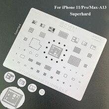 BGA Reballing Stencil for iPhone 11/Pro/Max A13 CPU IC