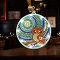 5D алмазная живопись светодиодный светильник специальная форма Алмазная мозаика вышивка Сова DIY незавершенный комплект Рождество