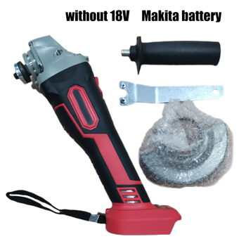 100mm 18V Brushless Wireless Impact Angle Grinder Head Tools Kit Without Battery Grinding Accessories Parts