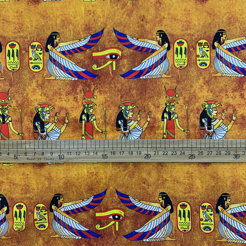 Moda africano tecido 100% algodão tecido egípcio belezas impressão pano retalhos costura material para diy vestido/vestuário feminino