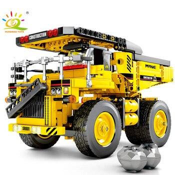 807 piezas bloques de construcción de camión volquete compatible legoing Technic Tipper coche ciudad Ingeniería Construcción ladrillos juguetes para niños