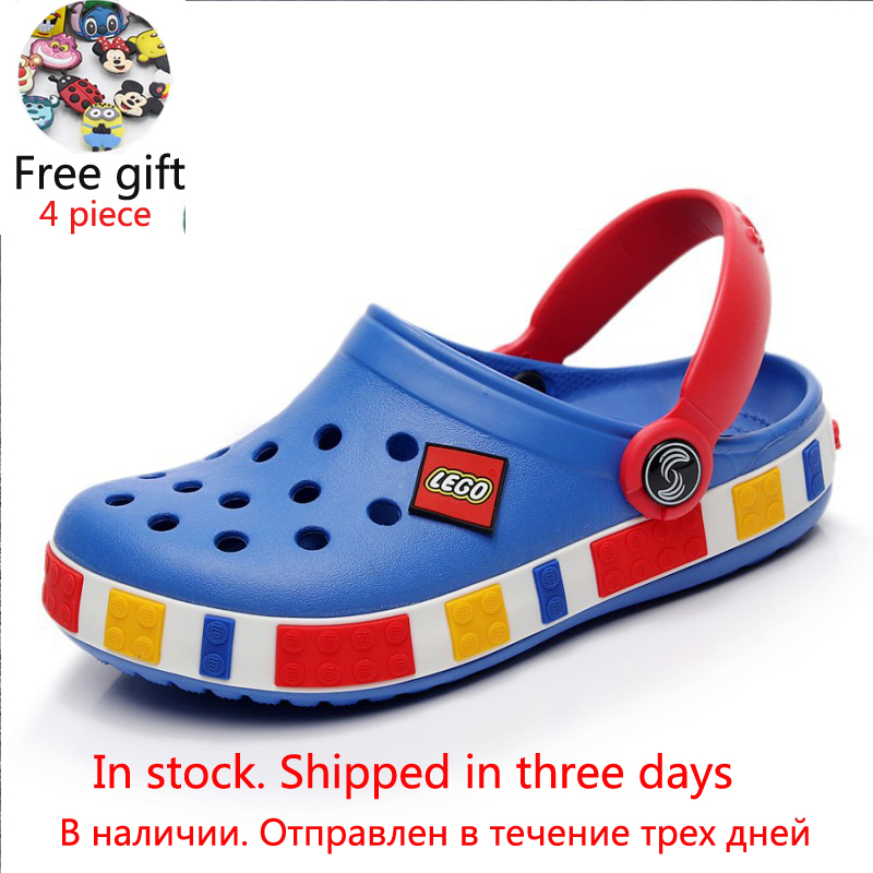 Fashion Boys Girls Sandals Beach Shoes Breathable Soft Garden Shoes Summer Sports Shoes High Quality Kids Shoe Toddler Sandals