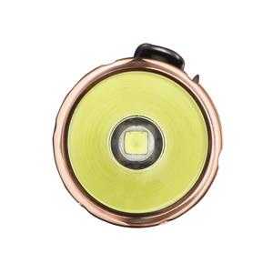 Image 3 - Lumintop Princeทองแดงพรีเมี่ยมวัสดุคาร์บอนไฟเบอร์ 18650 ไฟฉายSuper Bright Cree XM L2 1050 Lumens 190 เมตร