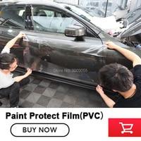 PVC Paint Protection Film Vinyl Wrap heating Auto Repair PPF Transparent Car Paint Shield Size 1.52x15m/roll Self healing