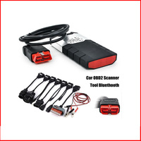 Best 2016.R1 Keygen NEC Relays OBD2 Scanner Car Diagnostic Tool Bluetooth cdp tcs Pro Easydiag Full Cars Truck Cables+8 Lines