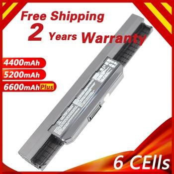 Laptop Battery For ASUS A43 A45 A53E A53SD A53S A53SK A53SM A53SV A53TA A53Z A54 A83 A84 K43 K53 K53E K53J K53SD X53S K53SJ X53U n 042 2 5mm dc power jack for asus k53 k53s k53e k53s k53sv a53z a53s k53sj k53sk laptop dc connector port socket connector