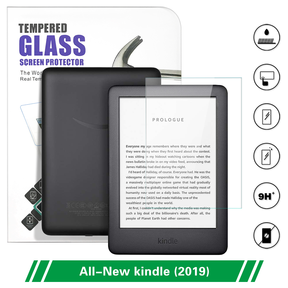 DUNNO For Amazon All-New Kindle 10th Generation Screen Protector For 2019 Kindle Tempered Glass 6 Inch Film