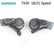 Shimano tx30 tourney SL-TX30 shifter bicicleta alavanca de mudança 3 6 7s 18 21 mtb bicicleta shifter gatilho interruptor esquerda/direita cabo 3x 6/3x7