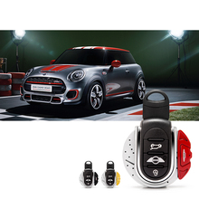 For BMW MINI COOPER F54 F55 F56 F57 F60 CLUBMAN car Key Fob Shell decoration accessories rope Car Cover JCW Style case