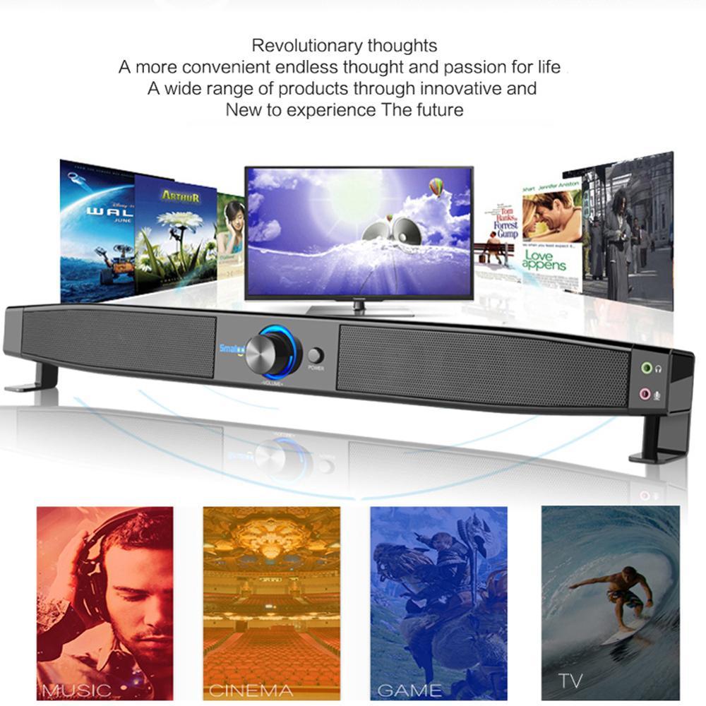 TV Bluetooth haut-parleur home cinéma système portable sans fil subwoofer basse MP3 musique boombox pour xiaomi