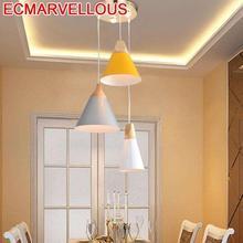 Modernos Lustre Lampara De Techo Colgante Moderna Dining Room Suspension Luminaire Suspendu Loft Deco Maison Pendant Light