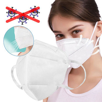 Wholesale Spot Goods PM2.5 Anti Virus Dust Face Mask Dust Mouth Face Respirator Protection Fastshipping 1PC Mask Dropshipping