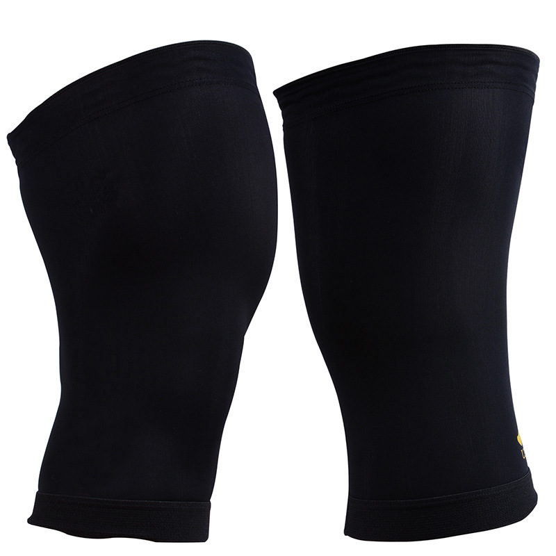 Sports Fitness Copper Ion Knitted Knee Pads Running Basketball Riding Anti-slip Men And Women Breathable Thin Summer