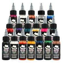 OPHIR Temporary Airbrush Tattoo Common Ink 30 ML/Bottle Body Painting Pigment Black Color_TA053-1# цена в Москве и Питере