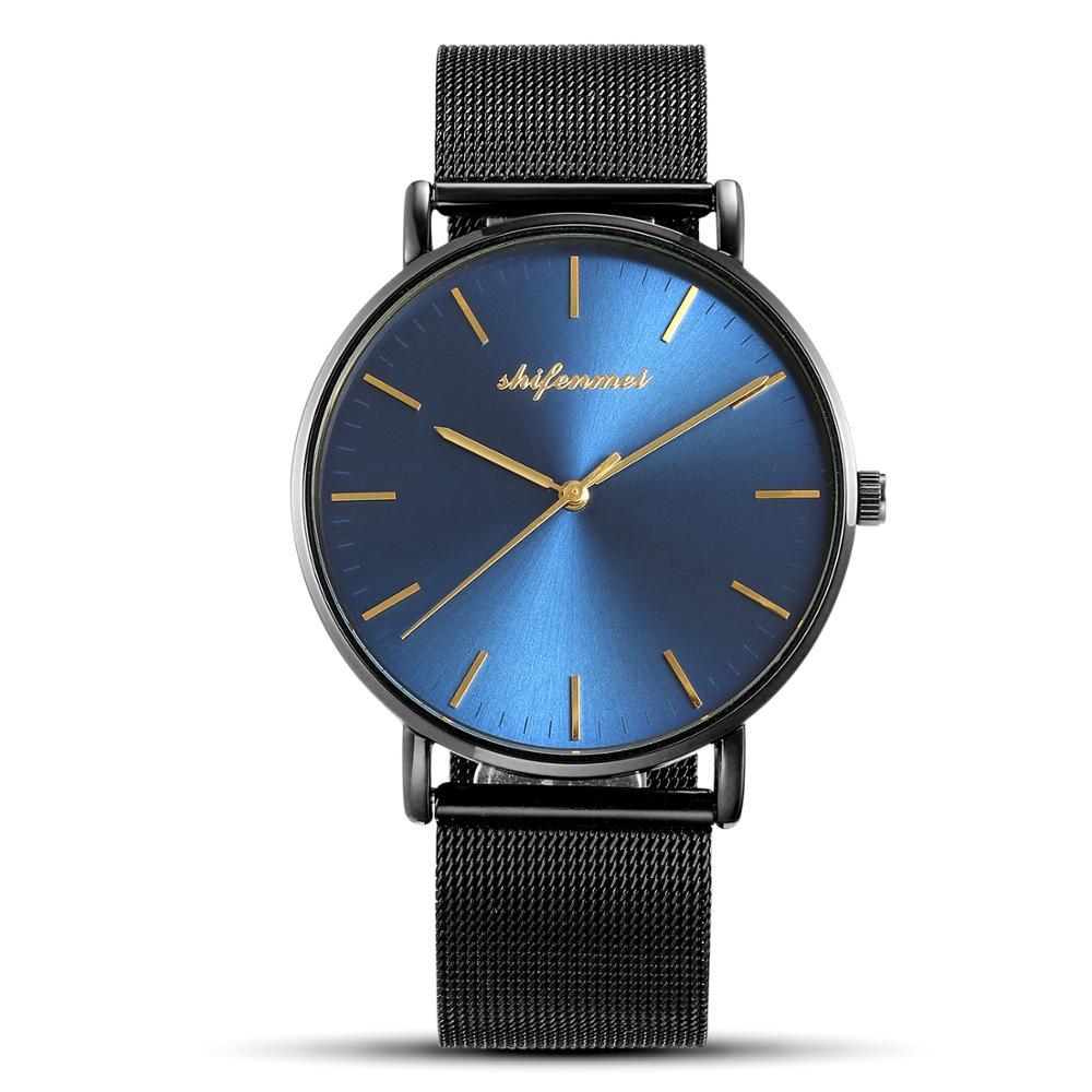 Man Watch Fashion Luxury Brand SHIFENMEI Casual Waterproof Quartz Wrist Watch Business Watch Men Magnetic Relogio Masculino