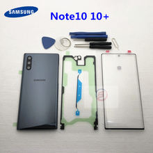 Front Screen Glass Lens for Samsung Galaxy Note 10 N970 Note 10 plus N975 N975F NOTE10+ Rear Battery Cover Door Back Housing