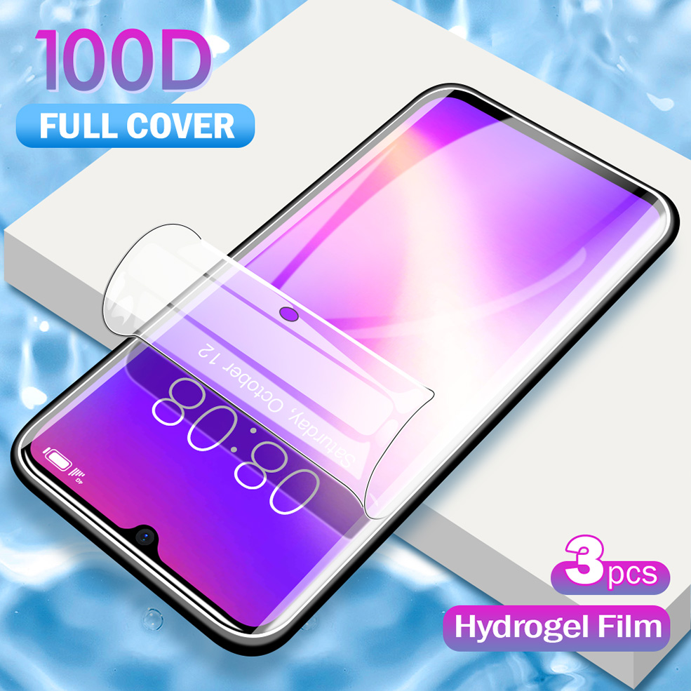Full Protective Screen <font><b>Hydrogel</b></font> Film On The For Xiaomi MI <font><b>8</b></font> 9 SE Protector Film For Xiaomi <font><b>Redmi</b></font> K30 7 Note <font><b>8</b></font> 7 Pro 7A 8A Film image