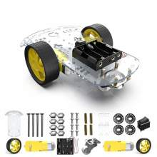 2WD Smart Robot Car Chassis Kit met 2 Motor (1:48) Speed Encoder Batterij Box voor Arduino UNO Project(China)