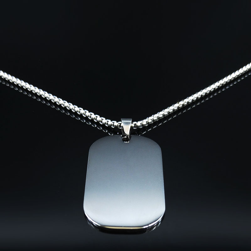 2019 To My Daughter NEVER FORGET THAT I Love You Big Long Stainless Steel Statement Necklace Women Jewely collares N19354 in Pendant Necklaces from Jewelry Accessories