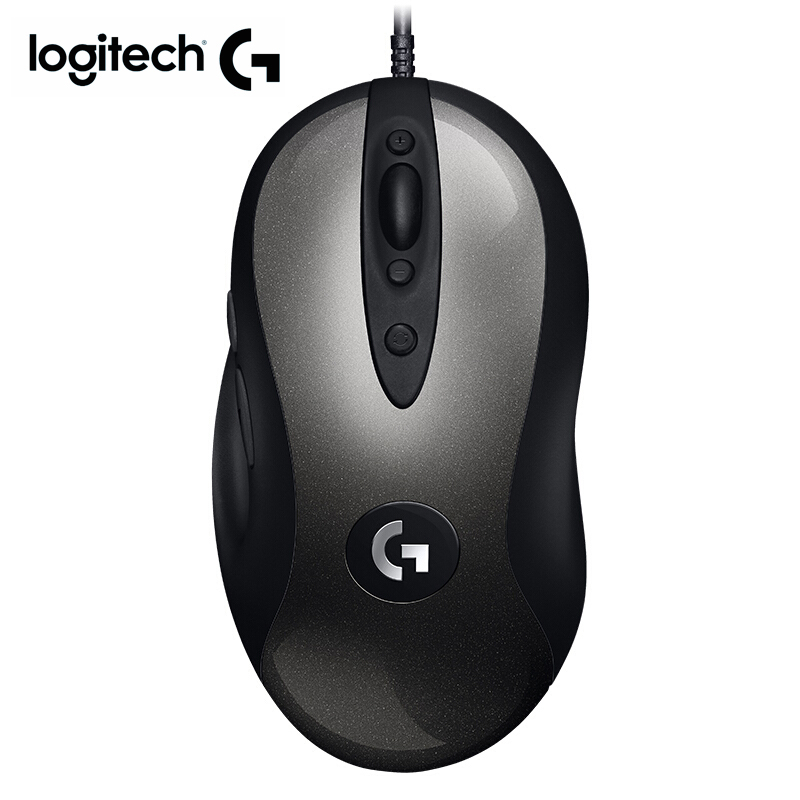 Logitech LEGENDARY gaming mouse MX518 with 16000DPI HERO Sensor logitech Wired mouse for overwatch DOTA PUBG and for mouse gamer image