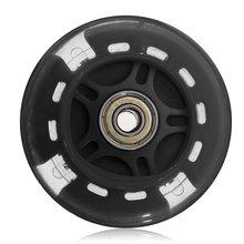 80Mm Led Flash Wheel Mini Or Maxi durable Scooter Flashing Lights Back Rear Abec-7 рубашка mini maxi