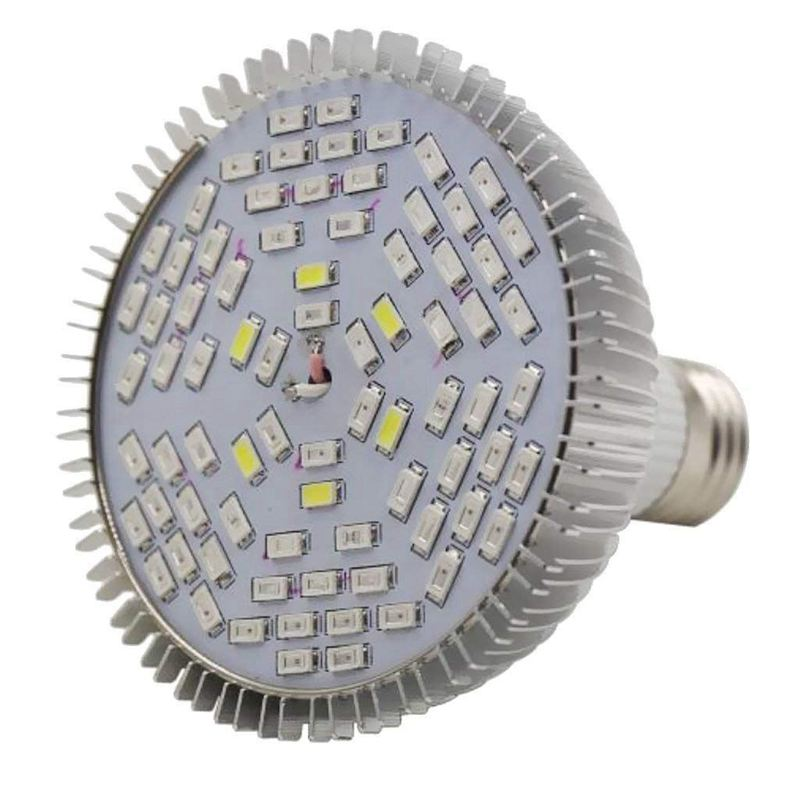Plant Lamp Growth Light LED Bulb Pro Horticultural Flower Misting Vegetation - 50w
