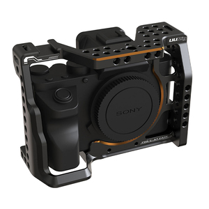 Image 2 - UURig C A7III Camera Cage For Sony A73 A7R3 A7M3 Standard Arca Quick Release Plate W Top Handle Grip Cold Shoe Mount DSRL Camera