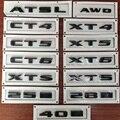 Kofferraum Hinten Aufkleber Heckklappe Buchstaben Aufkleber Für Cadillac CT6 CT5 CT4 XT6 XT5 ATS XTS AWD 25I 28I 40I auto Styling