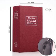 Dictionary Mini Book Safe Security Key Locker Money Hidden Secret Safe Key Safe Box Cash Money Coin Storage Jewellery Lock Box