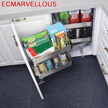 Almacenaje Armario Platos Cestas Para Colgar En La Ducha de acero inoxidable Cocina organizador Cozinha de gabinete de Cocina cesta de almacenamiento