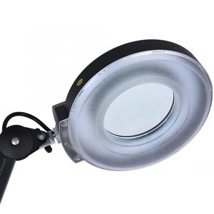 Image 2 - Professionelle Beleuchtung Schönheit Kosmetische Tattoo Maniküre 5x Vergrößerungs Beleuchteten Schreibtisch Lupe Licht Lampe Mit Clamp beleuchtung