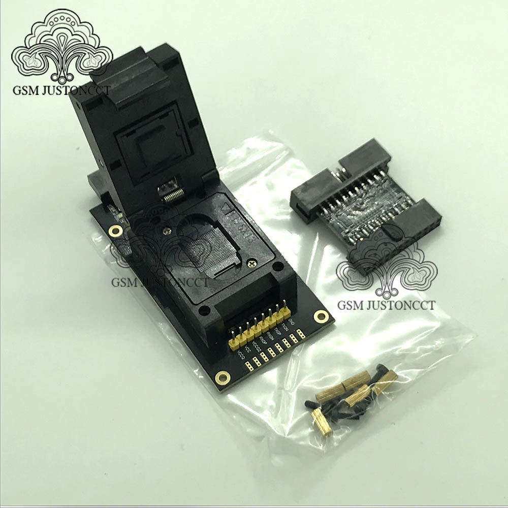 UFS BGA 254 Sockets Adapter For Easy Jtag Plus Box