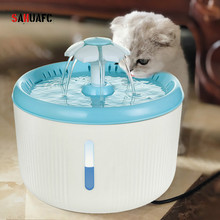 Cat 2L Automatic Water Fountain Drinker Pet LED Electric Mute Bowl Dog Feeder USB  Pets Drinking Dispenser Water Level Display