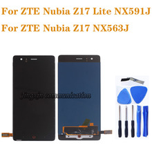 Original display For ZTE Nubia Z17 lite NX591J LCD + touch screen digitizer assembly for Nubia Z17 NX563J display repair parts jonsnow full coverage tempered glass for zte nubia z17 lite 5 5 inch protective film for zte nubia m2 lite screen protector