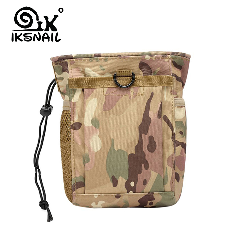IKSNAIL Mountaineering Military Ammo Pouch Pack Tactical Gun Magazine Reloader Bag Utility Hunting Rifle Magazine Pouchs Outdoor