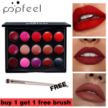 Buy 1 Get Gift New Matte Lipstick Palette Waterproof Long Lasting Nude Lip Stick Cream Moisturizer Red Beauty Makeup Set