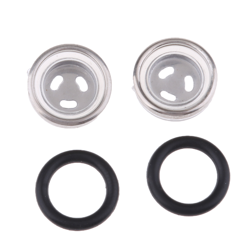 MagiDeal 12mm Motorbike Brake Master Cylinder Reservoir Sight Mirror Gasket