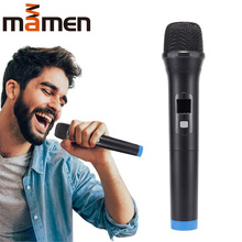 MAMEN Wireless Karaoke Microphone Handheld Mic with Receiver for Conference KTV Singing Party Speech Universal Loudspeaker цена и фото