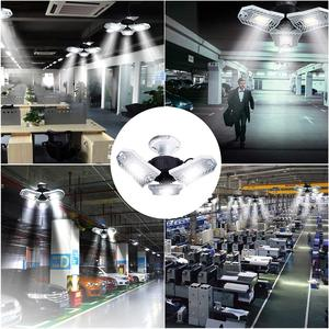 Image 5 - E27 LED Bulb 60W 6000Lm High Intensity Deformable Lamp SMD2835 AC85 265V For Indoor Parking Industrial Warehouse Led Industrial