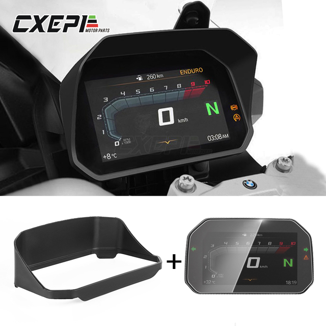 2020 NEW Motorcycle Instrument Speedometer Visor Meter Guard+protection film For BMW S1000RR S1000XR S 1000 RR XR 2020