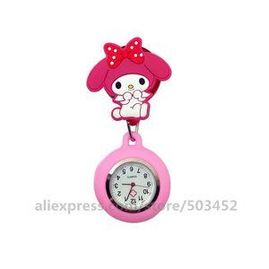 Image 4 - 100 ピース/ロット 110514 動物看護師は医師 Wathes 素敵な卸売ポケット女性ファッション医療腕時計