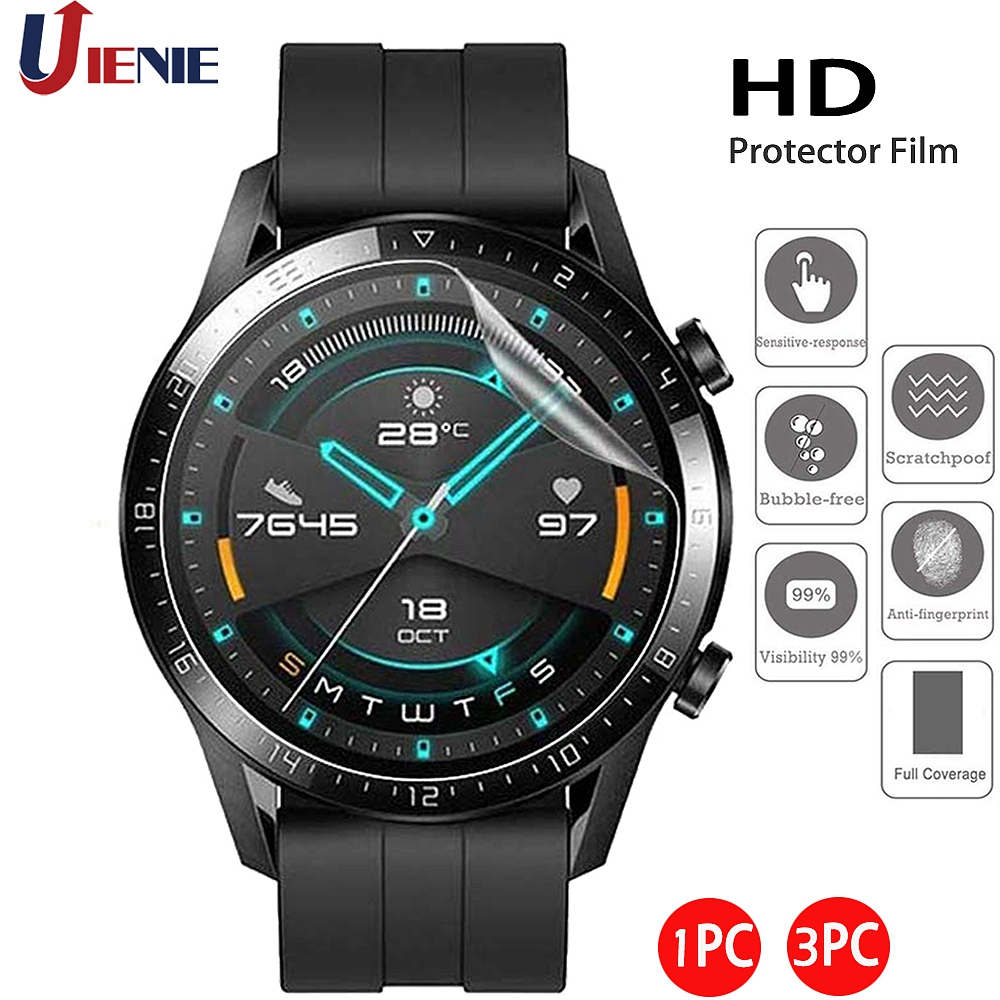For GT GT2 46mm Protective Film HD Clear Guard Protection For Huawei Watch Gt 2 Smartwatch Display Screen Protector Cover