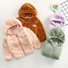 Детская куртка; флисовая куртка для мальчиков; Повседневная Верхняя одежда на молнии с капюшоном; Детский свитер