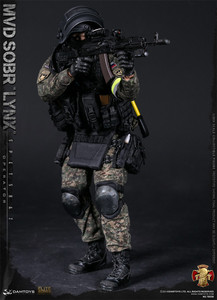 Image 2 - DAMTOYS DAM 78058 1/6 Bilancia RUSSO SPETSNAZ MVD SOBR LYNX Maschio Soldier Action Figure per la Raccolta