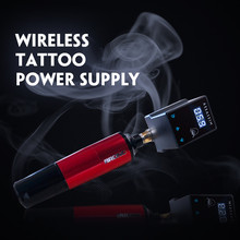 Power-Supply Tattoo-Pen-Machine Wireless Rechargable-Battery Mini LCD for Gun 1950mah